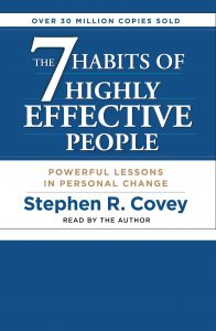 the 7 habots of highly effective people: by Stephen R. Covey